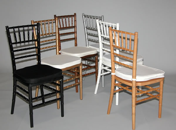 Chivary Ballroom Chairs Black, Gold, Fruitwood, Silver, White, Natural